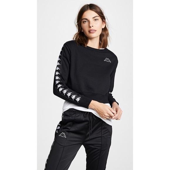 fa352eca8c7443 Kappa Sweaters - Kappa Banda crop sweatshirts